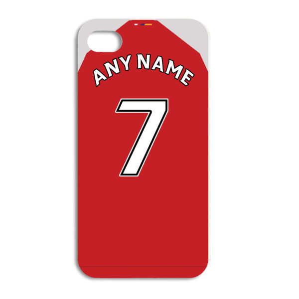 best cheap 9be3f dd593 Arsenal Football Team Personalised Phone Case