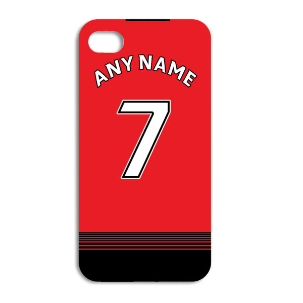 brand new d2708 8568d Man Utd Football Team Personalised Phone Case